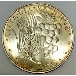 VATICAN - KM 123 - 500 LIRES 1972 - PAUL VI