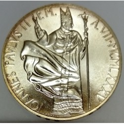 VATICAN - KM 191 - 1,000 LIRA 1985 - JOHN PAUL II