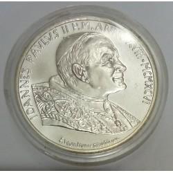 VATICAN - KM 269 - 500 LIRES 1996 - JEAN PAUL II
