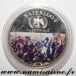 FRANCE - MEDAL - NAPOLÉON I - BATTLE OF WATERLOO - 18 JUNE 1815