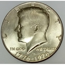 UNITED STATES - KM 205 - 1/2 DOLLAR 1976 - KENNEDY - 200 YEARS OF INDEPENDENCE 1776-1976