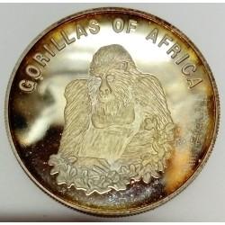 UGANDA - KM 101 - 1,000 SHILLING 2002 - GORILLA