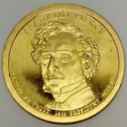 UNITED STATES - KM 476 - 1 DOLLAR 2010 - FRANKLIN PIERCE