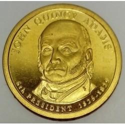 UNITED STATES - KM 427 - 1 DOLLAR 2008 - JOHN QUINCY ADAMS - 6TH PRESIDENT 1825-1829