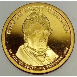 UNITED STATES - KM 450 - 1 DOLLAR 2009 - WILLIAM HENRI HARRISON - 9TH PRESIDENT 1841