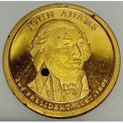UNITED STATES - KM 402 - 1 DOLLAR 2007 - JOHN ADAMS - 2ND PRESIDENT 1797-1801