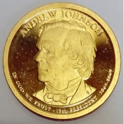 UNITED STATES - KM 499 - 1 DOLLAR 2011 - ANDREW JOHNSON - 17TH PRESIDENT 1865-1869