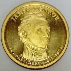 UNITED STATES - KM 426 - 1 DOLLAR 2008 - JAMES MONROE - 5TH PRESIDENT 1817-1825