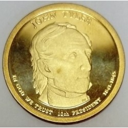 UNITED STATES - KM 451 - 1 DOLLAR 2009 - JOHN TYLER - 10TH PRESIDENT 1841-1845