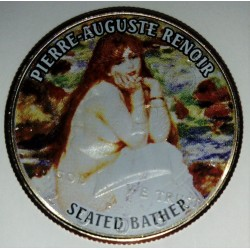 UNITED STATES - 1/2 DOLLAR 2006 - KENNEDY - PIERRE AUGUSTE RENOIR - SEATED BATHER
