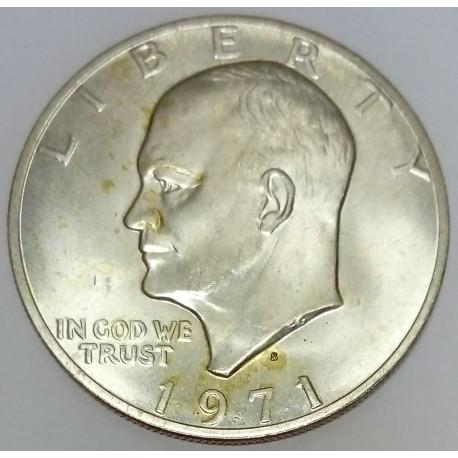 UNITED STATES - KM 203a - 1 DOLLAR 1971 S - San Francisco - EISENHOWER
