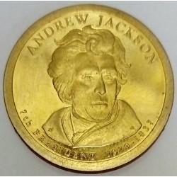 UNITED STATES - KM 428 - 1 DOLLAR 2008 - ANDREW JACKSON - 7TH PRESIDENT 1827-1837