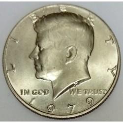 UNITED STATES - KM 202 b - 1/2 DOLLAR 1979 - KENNEDY