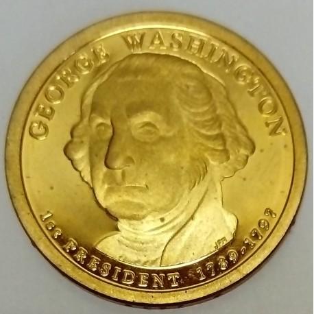 UNITED STATES - KM 401- 1 DOLLAR 2007 - GEORGE WASHINGTON - 1ST PRESIDENT 1789-1797
