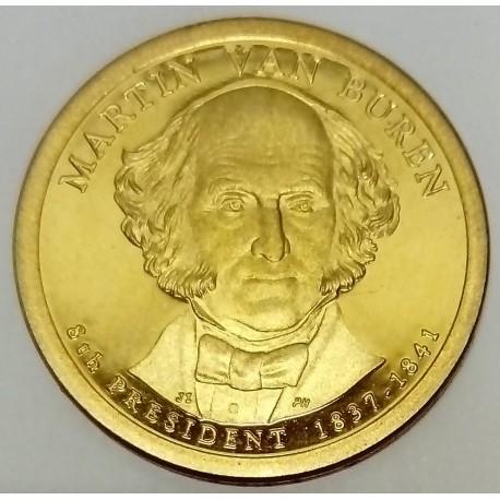 UNITED STATES - KM 401- 1 DOLLAR 2008 - MARTIN VAN BUREN - 8TH PRESIDENT 1837-1841