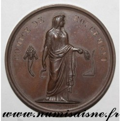 MEDAL - AGRICULTURE - AGRICULTURAL CONTEST OF ROUGEMONT - 1856