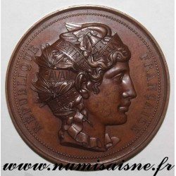 MEDAL - AGRICULTURE - NEUILLY SUR SEINE HORTICULTURAL SOCIETY - 1885