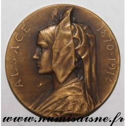 MEDAL - ALSACE - 1870 - 1914