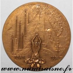 MEDAL - RELIGION - LOURDES - 1858 - 1958