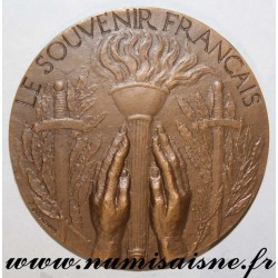 MEDAL - WAR - THE FRENCH SOUVENIR - 1939 - 1945