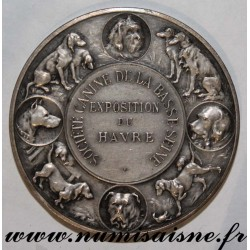 MEDAL - LE HAVRE - CANINE SOCIETY OF BASSE SEINE