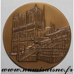 MEDAL - POLITICS - CENTENARY OF DIPLOMATIC RELATIONS BETWEEN FRANCE AND KOREA - 1886 - 1986