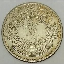 SYRIA - KM 72 - 10 PIASTRES 1929