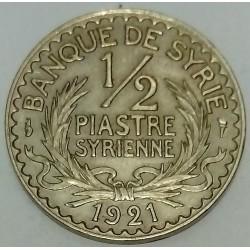 SYRIA - KM 68 - 1/2 PIASTRE 1921