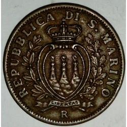 SAN MARINO - KM 13 - 10 CENTESIMI 1936 R