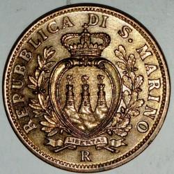 SAN MARINO - KM 13 - 10 CENTESIMI 1935 R