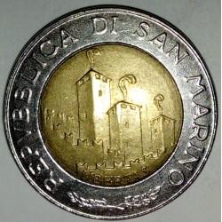 SAN MARINO - KM 301 - 500 LIRE 1993