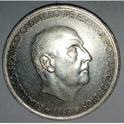 SPAIN - KM 797 - 100 PESETAS 1966 (68) - FRANCISCO FRANCO