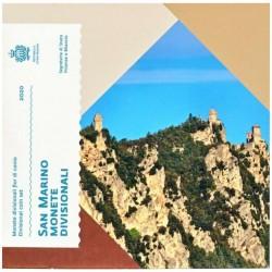 SAN MARINO - MINTSET 2020 - 8 COINS (3.88 euros)