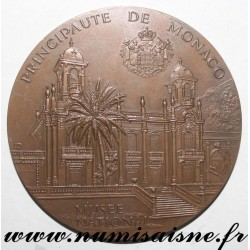 MEDAL - MONACO - NATIONAL MUSEUM - MADELEINE DE GALEA COLLECTION 1874 - 1956