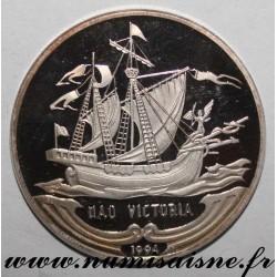 CUBA - KM 428 - 10 PESOS 1994 - NAO VICTORIA