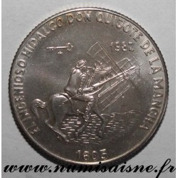 CUBA - KM 100 - 5 PESOS 1982 - EL INGENIOSO HIDALGO DON QUIJOTE DE LA MANCHA