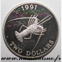 BERMUDA - KM 69 - 2 DOLLARS 1991