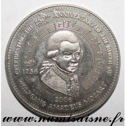 COOK ISLANDS - 1 DOLLAR 2006 - 250th BIRTHDAY OF WOLFGANG AMADEUS MOZART