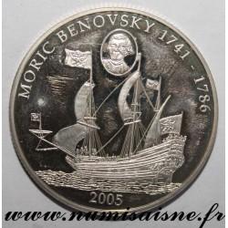 LIBERIA - KM 1018 - 10 DOLLARS 2005 - MORIC BENOVSKY 1741 - 1786