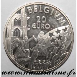 BELGIUM - 20 EURO 1996 - Albert II