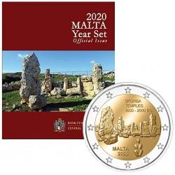 MALTA - 5.88 € - MINTSET BU 2020 - 9 coins