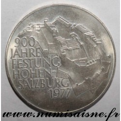 AUSTRIA - KM 2935 - 100 SHILLING 1977 - 900 years of the fortress of Hohensalzburg