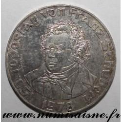 AUSTRIA - KM 2937 - 50 SCHILLING 1978 - 150 years since the death of Franz Schubert