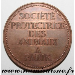 MEDAL - ANIMAL PROTECTION SOCIETY - PARIS - 1886