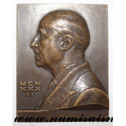 MEDAL - MEDICINE - DOCTOR GASTON MILIAN - SAINT LOUIS HOSPITAL - 1936