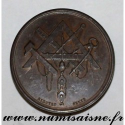 MEDAL - CHAMBER OF BUILDING CONTRACTORS - Versailles - Founded in 1845