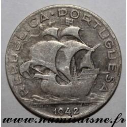 PORTUGAL - KM 581- 5 ESCUDOS 1942