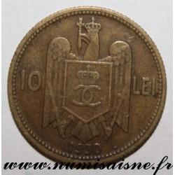ROMANIA - KM 49 - 10 LEI 1930 H