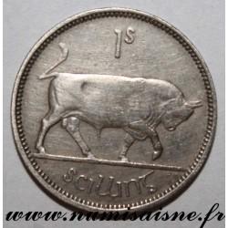 IRELAND - KM 14a - 1 SHILLING 1954