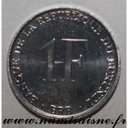 BURUNDI - KM 19 - 1 FRANC 1993